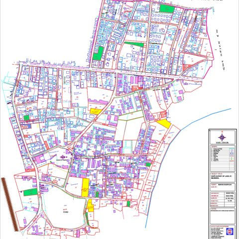 Billimora Zone division as per Town Planning Record.